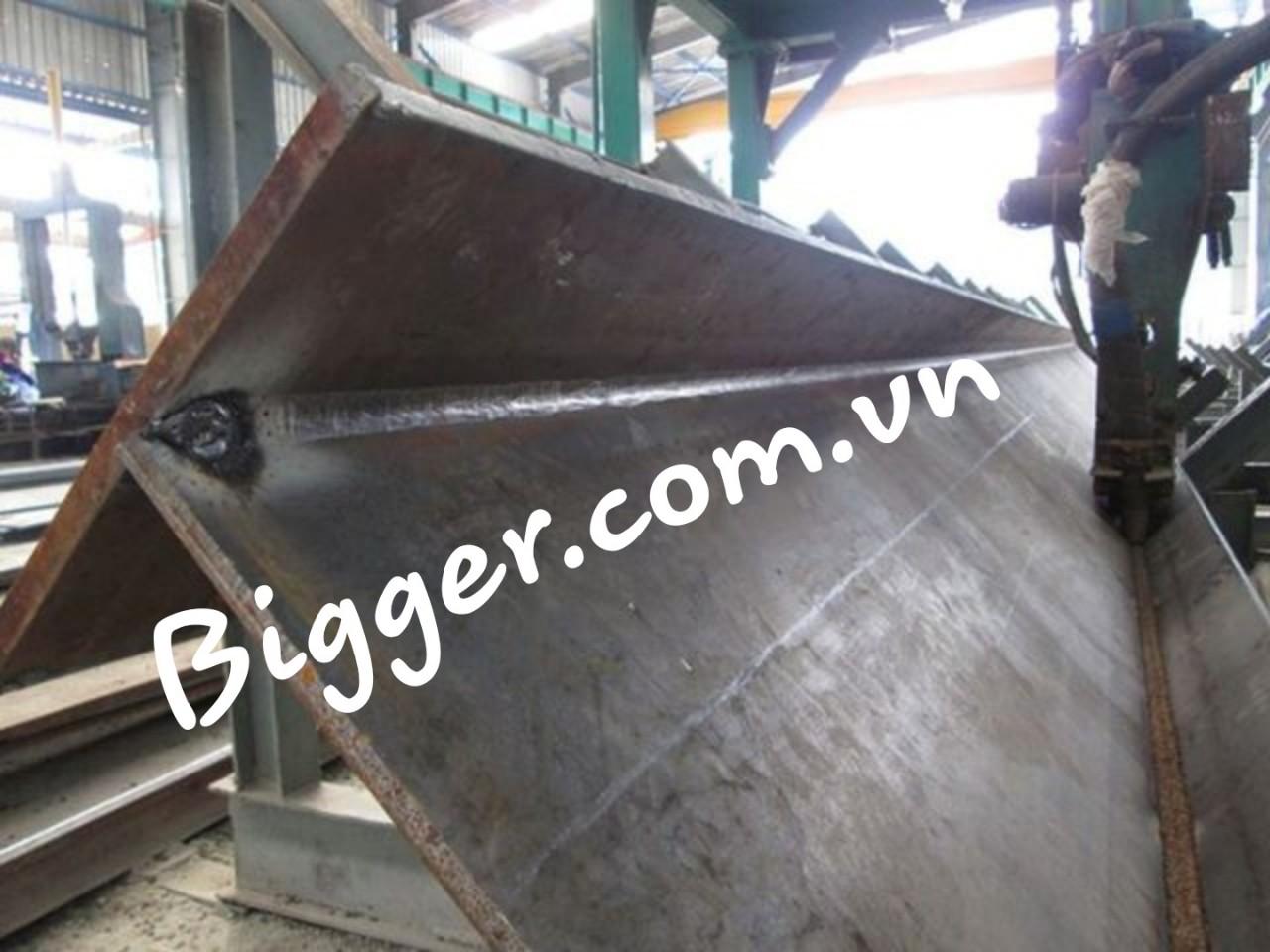 Kết cấu thép được sản xuất tại nhà máy